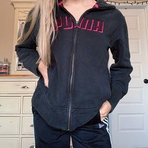Puma Zip Up Jacket Hoodie